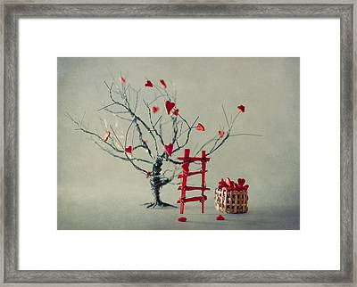 Reap What You Sow Framed Print by Maggie Terlecki