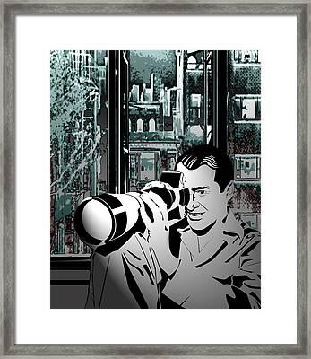 Rear Window Framed Print by Ryan Burton