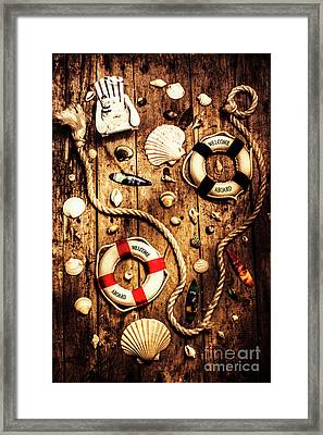 Rearranging The Deck Chairs Framed Print by Jorgo Photography - Wall Art Gallery