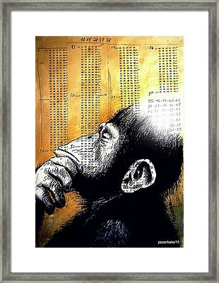 Reasoning Logical Mathematical Framed Print by Paulo Zerbato