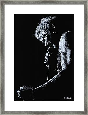 Rebel Yell Framed Print by Richard Young
