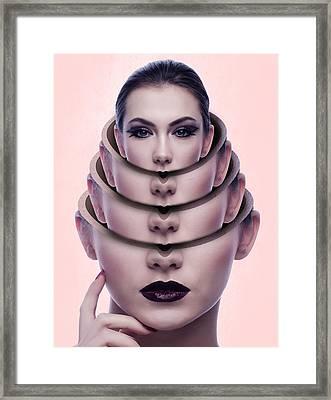 Rebirth And Renewal Framed Print by Solomon Barroa