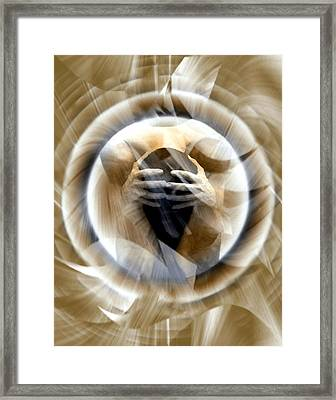 Rebirth Framed Print by Kurt Van Wagner