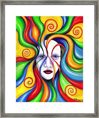 Rebirth Framed Print by Shawna Rowe