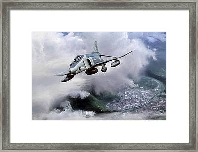 Recce Rebel Framed Print by Peter Chilelli