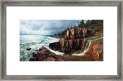Receding Storm Framed Print by Bill Caldwell -        ABeautifulSky Photography