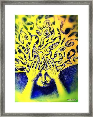 Recesses Framed Print by Paulo Zerbato