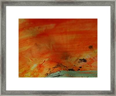 Reckoned From One Midnight To The Next Framed Print by TripsInInk