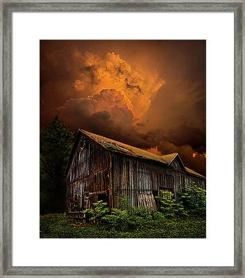 Recluse Framed Print by Phil Koch