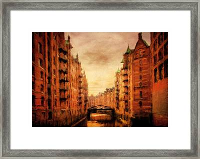 Recollections Of Days Gone By Framed Print by Georgiana Romanovna