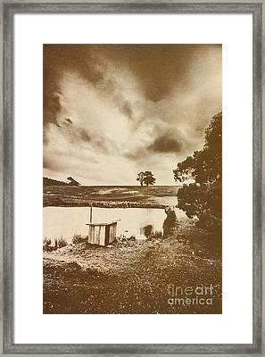 Recollections Of The Watershed Framed Print by Jorgo Photography - Wall Art Gallery