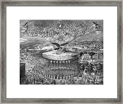 Reconstruction -- Civil War Era Framed Print by War Is Hell Store