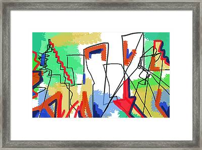 Reconstruzione  Framed Print by Paul Sutcliffe