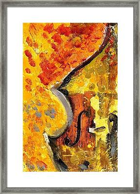 Red Bass Framed Print by Eric HERVE