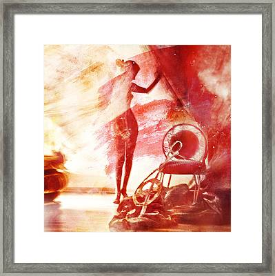 Red Blues Framed Print by Mark-Meir Paluksht