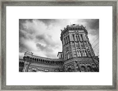 Red Castle Framed Print by Joseph Westrupp
