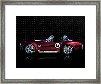Red Cobra Framed Print by Douglas Pittman