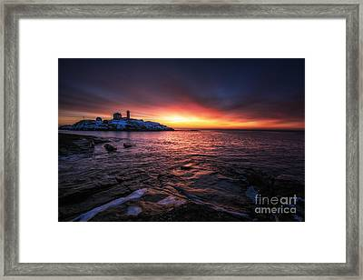 Red Dawn Framed Print by Scott Thorp