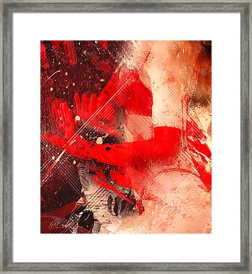 Red Gloves Framed Print by Svetlana Sewell