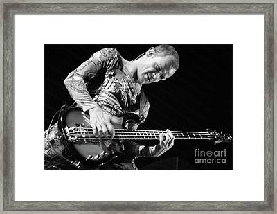 Red Hot Chili Peppers  Framed Print by Jenny Potter