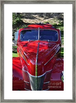 Red Hot Rod Framed Print by Clayton Bruster
