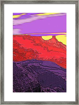 Red Rock Country - Southeastern Utah Framed Print by Steve Ohlsen