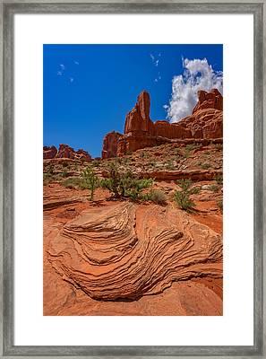 Red Rock Park Avenue Framed Print by Rick Berk