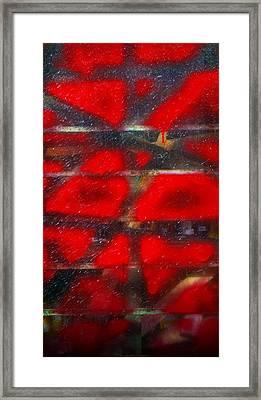 Red Scare Framed Print by Skip Hunt