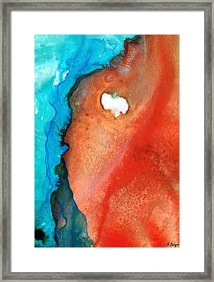 Red Sea Framed Print by Sharon Cummings