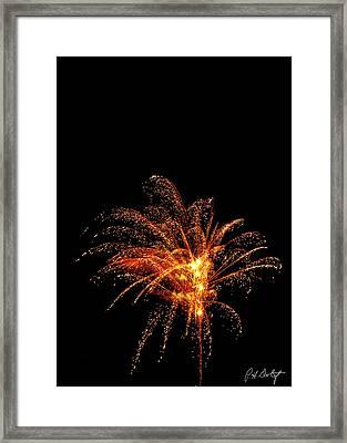 Red Splash Framed Print by Phill Doherty
