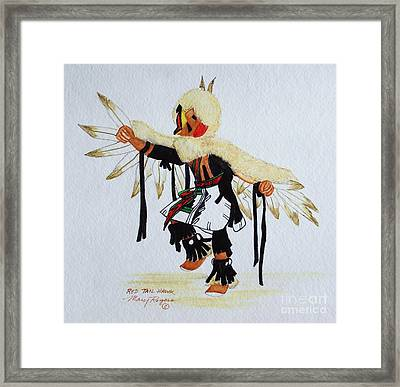Red Tail Hawk Framed Print by Mary Rogers