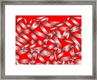 Red.149 Framed Print by Gareth Lewis