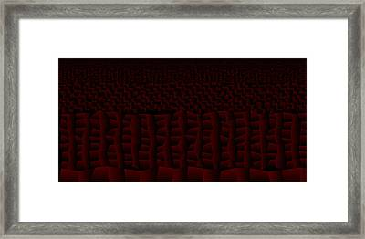 Red.158 Framed Print by Gareth Lewis