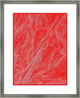 Red.290 Framed Print by Gareth Lewis
