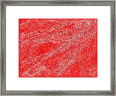 Red.291 Framed Print by Gareth Lewis