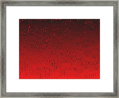 Red.424 Framed Print by Gareth Lewis