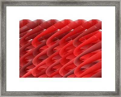 Red.689 Framed Print by Gareth Lewis
