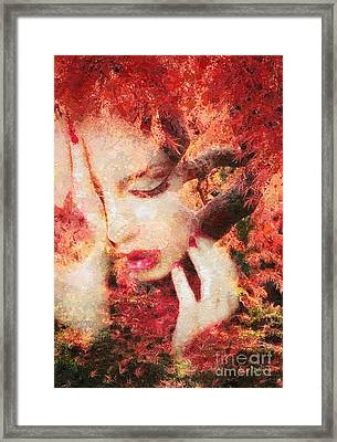 Redemption Framed Print by Mo T