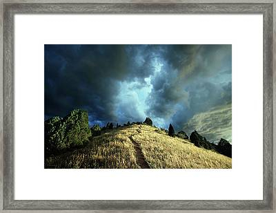 Redemption Trail Framed Print by Brian Gustafson
