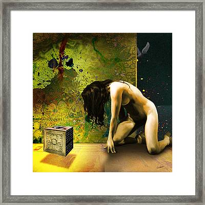 Redemption Framed Print by Van Renselar