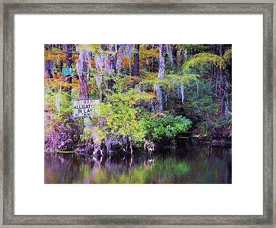 Redundant Framed Print by JC Findley