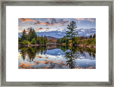 Reflect Framed Print by Mark Papke