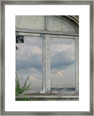 Reflecting Memories Framed Print by Roxy Riou