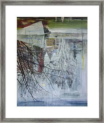 Reflection Architecture Planten Un Blomen Framed Print by Calum McClure