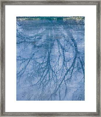 Reflection January 2016 Framed Print by Leif Sohlman