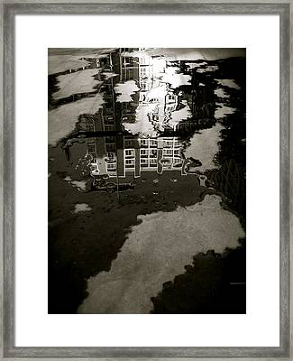 Reflection Framed Print by Joseph Thiery