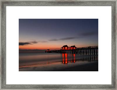 Reflections Framed Print by Emilio Portuondo