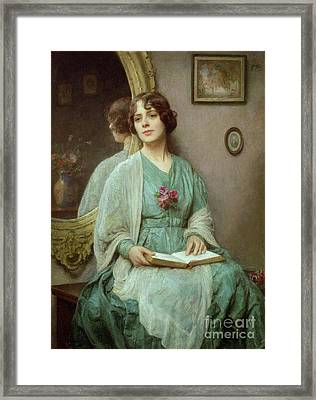 Reflections Framed Print by Ethel Porter Bailey