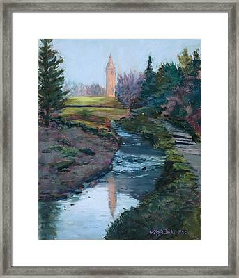 Reflections In History Framed Print by Mary Benke