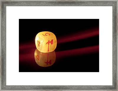 Reflections Framed Print by Marc Garrido